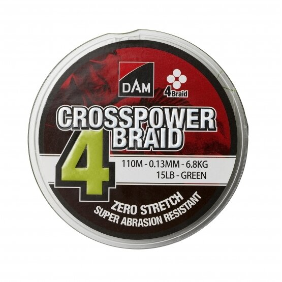 D-A-M Crosspower 4 Braid 150mtr