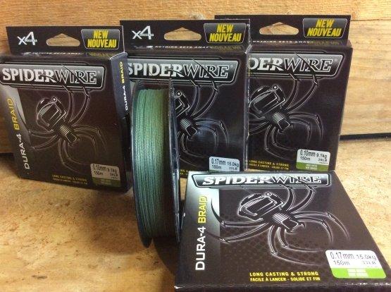 Dura 4 Braid Spiderwire Braid gevlochten lijn