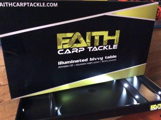 Faith Illuminated Bivy Table