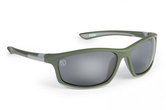 Fox Sunglasses Green Silver