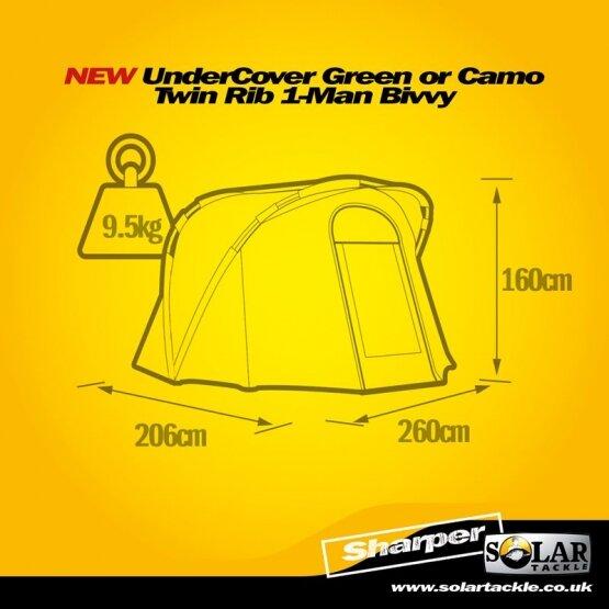 Solar Undercover Camo 1 Man Bivy