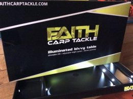 Faith Illuminated Bivy Table