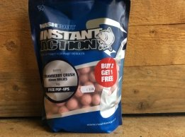 Nash Strawberry Crush boilies 2+ 1Gratis